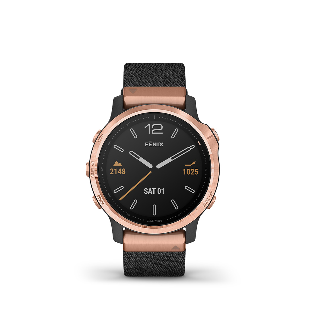 Garmin Fenix 6S Pro and Sapphire 42mm Nylon Band