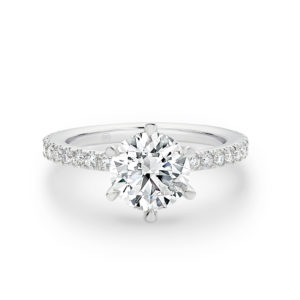 Round 6 Claw engagement ring - A2271/A2417