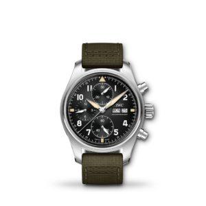 IWC Pilot's Watch Chronograph Spitfire 41mm Fabric IW387901
