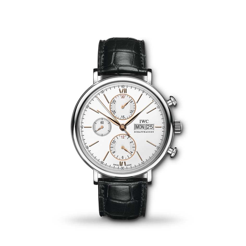 IWC Portofino Chronograph 42mm Leather
