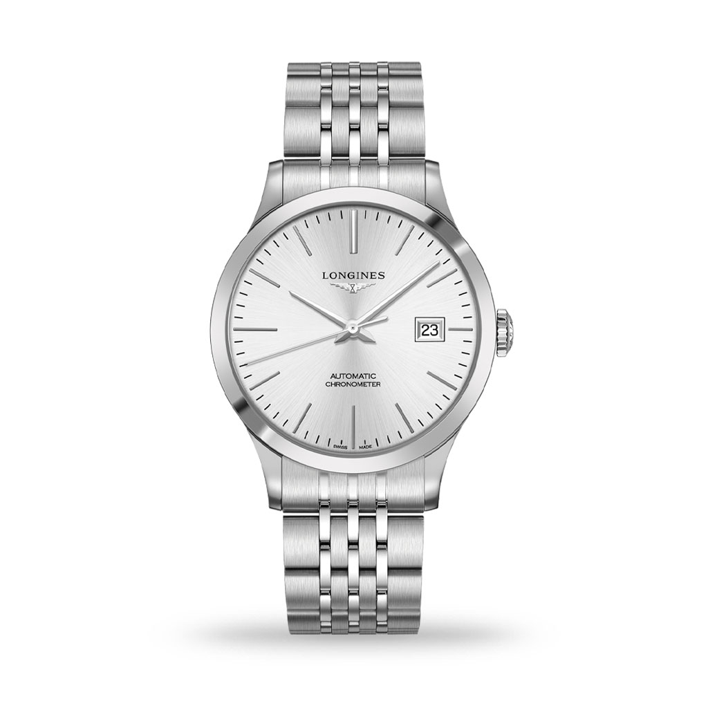Longines Record Collection 40mm Automatic Bracelet