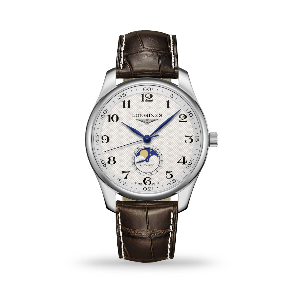 Longines Master Collection 42mm Alligator Leather Strap