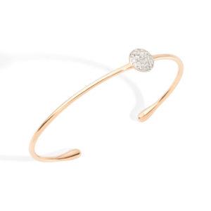 Pomellato Sabbia Bracelet with White Diamonds | PBB7012_O7000_DB000