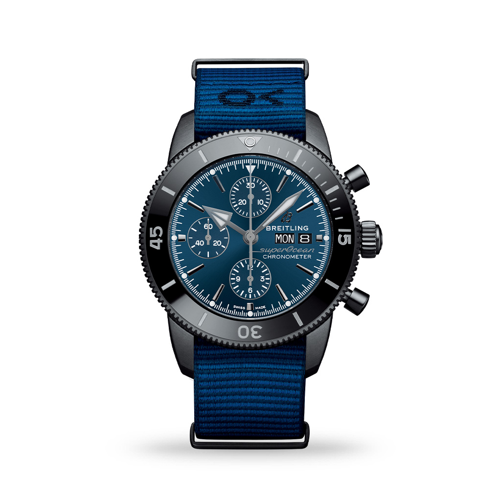 Breitling Superocean Héritage Chronograph 44mm Outerknown ECONYL® Yarn Nato