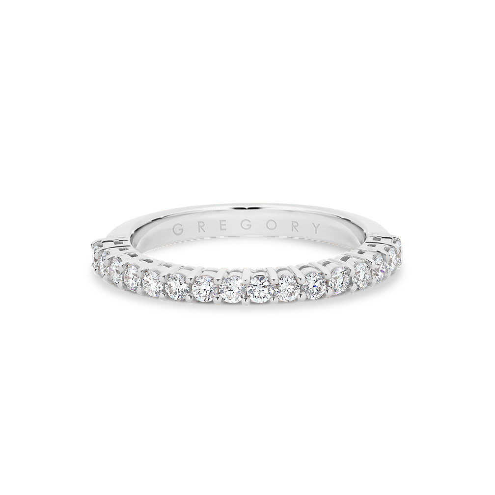 Classic Claw Set Diamond Band
