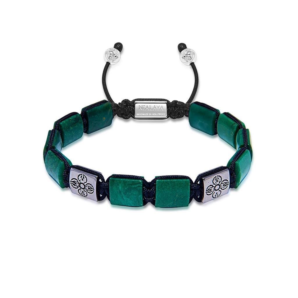 Nialaya Dorje Flatbead Collection – Green African Jade