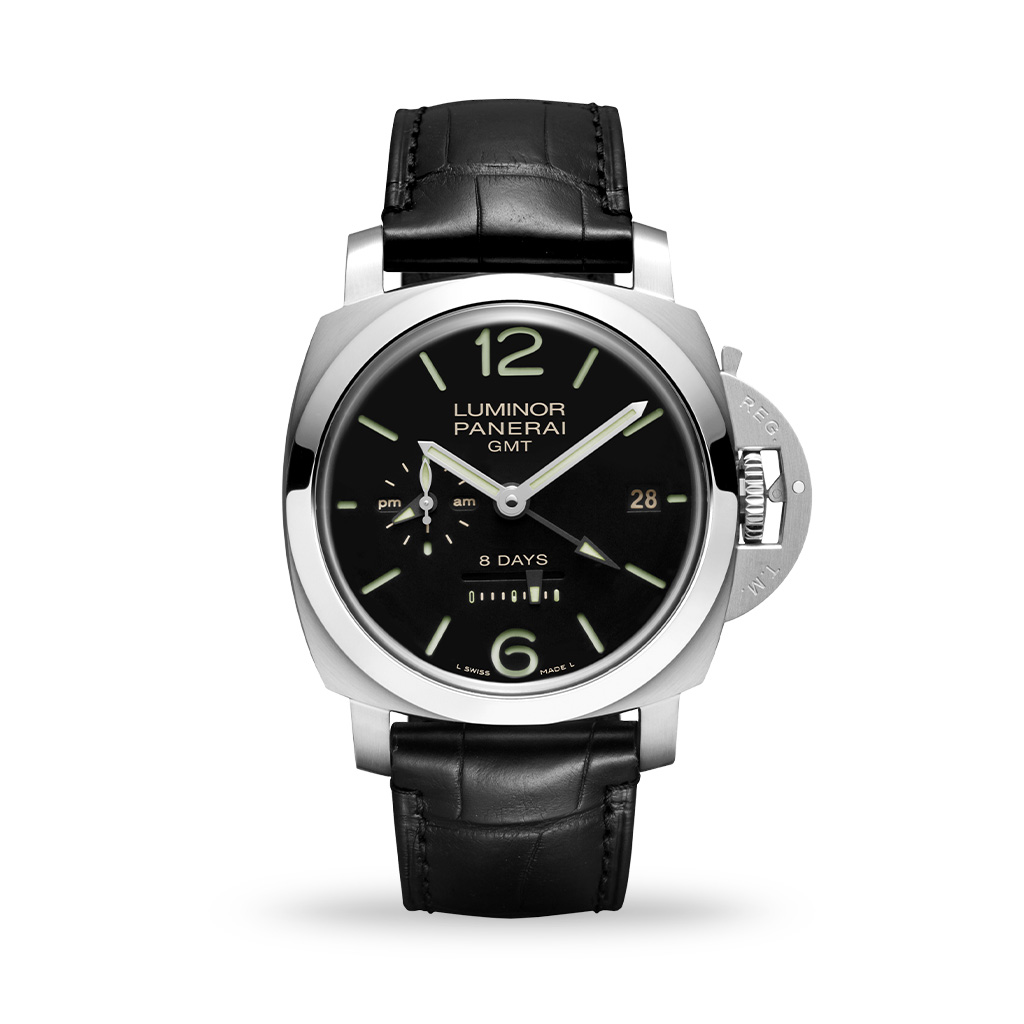 Panerai Luminor GMT 8 Days 44mm Leather Strap