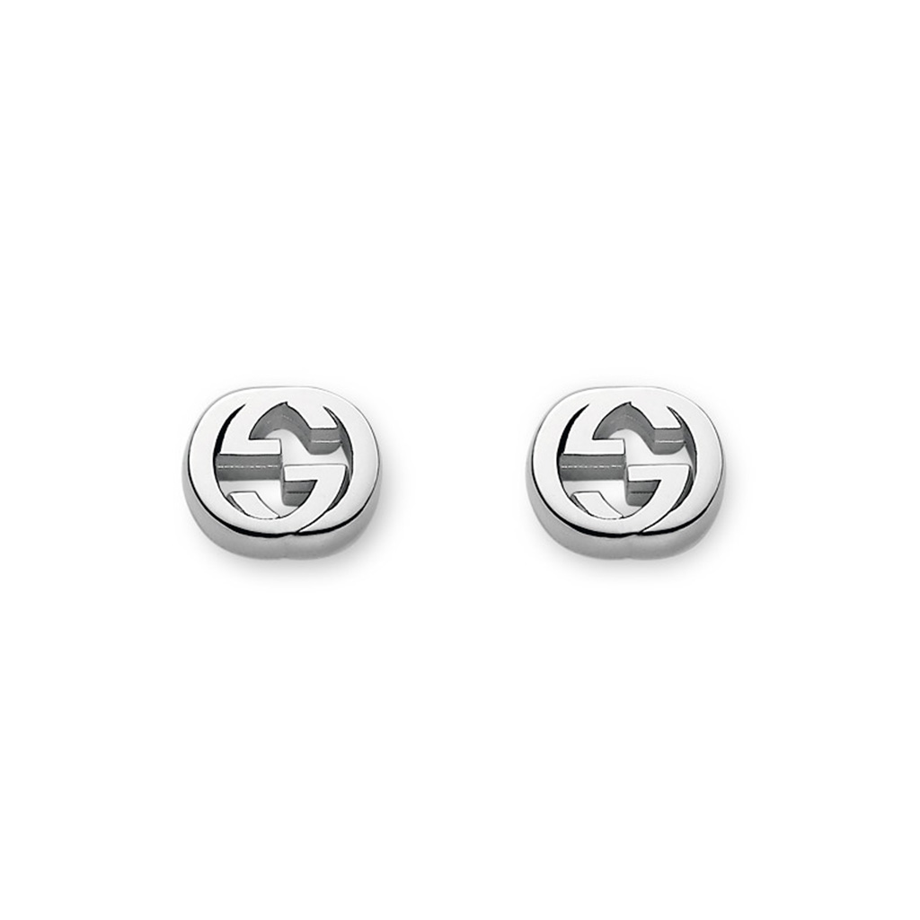 Gucci Interlocking G Stud Earrings
