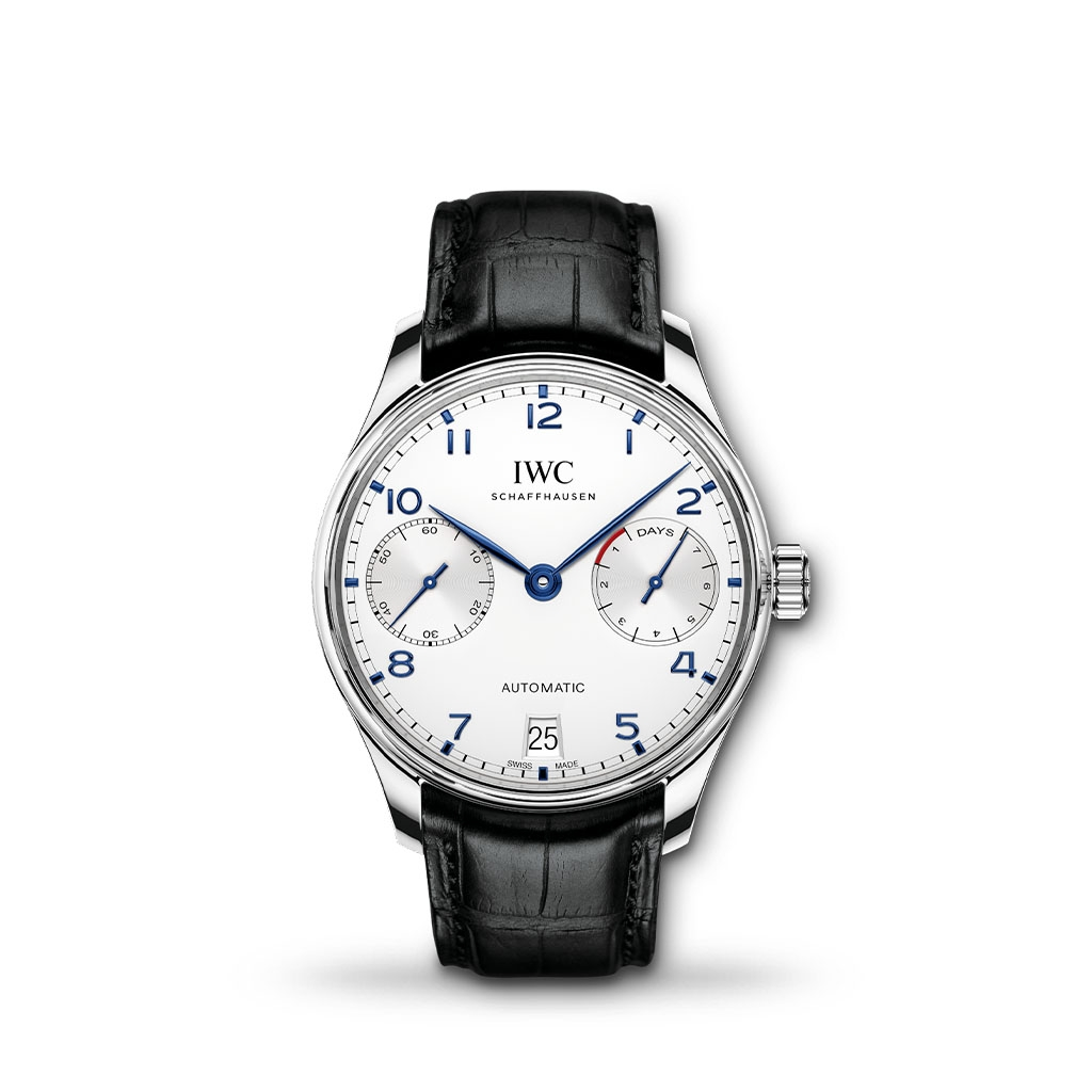 IWC Portugieser 7 Day Automatic 42mm Leather