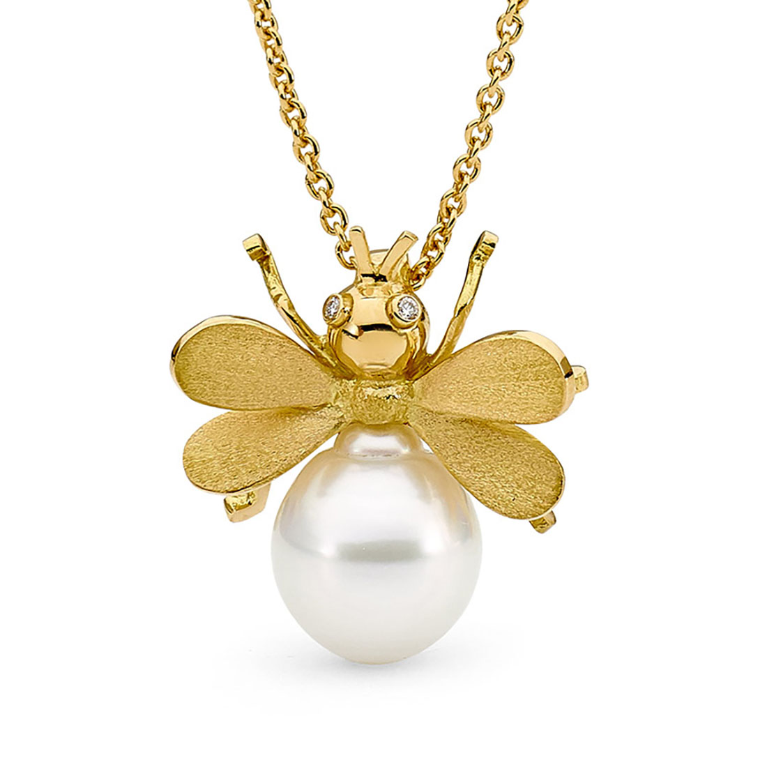 Allure South Sea Pearl Bee Pendant