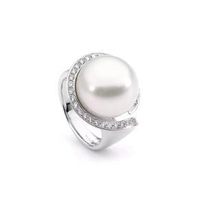 Allure South Sea Pearl & Diamond Ring | R51W14W