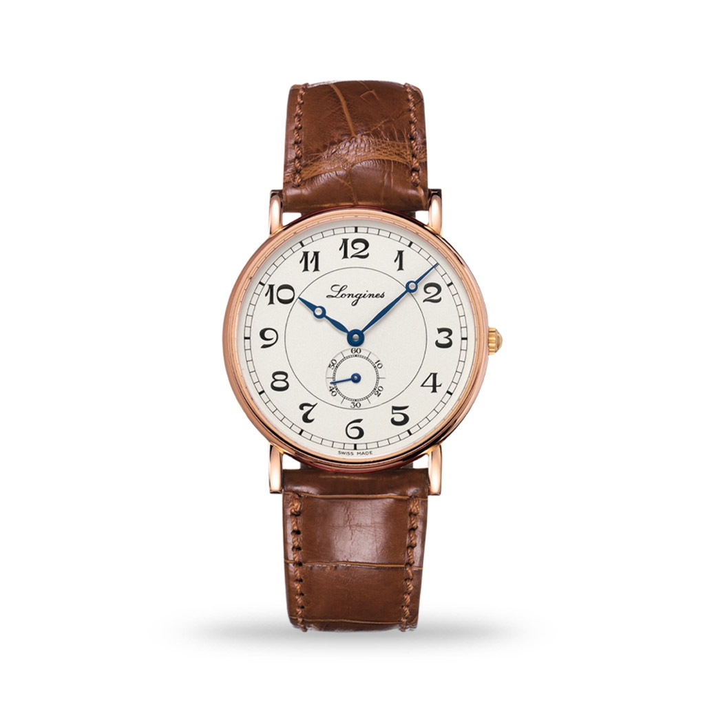 Longines Présence Heritage Collection 38mm Leather Strap