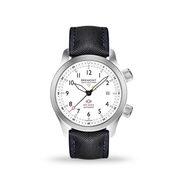 Bremont MBII White Dial 43mm Chalgrove Strap