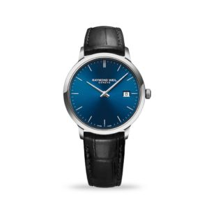 Raymond Weil Toccata Mens classic blue dial watch
