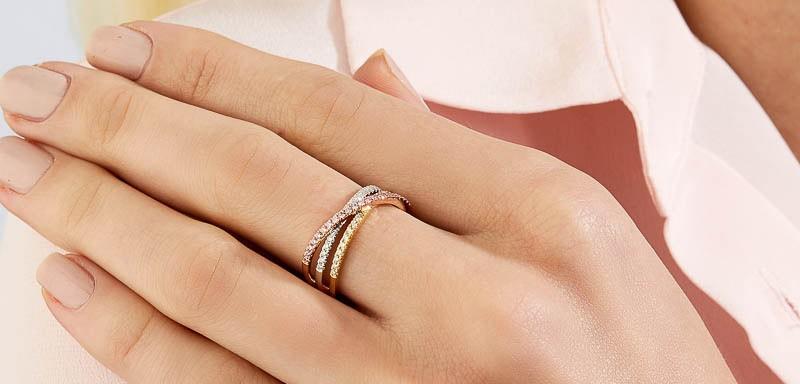 Pink Kimberley Diamonds Blush Aida Dress Ring BPD-RDSTT0101