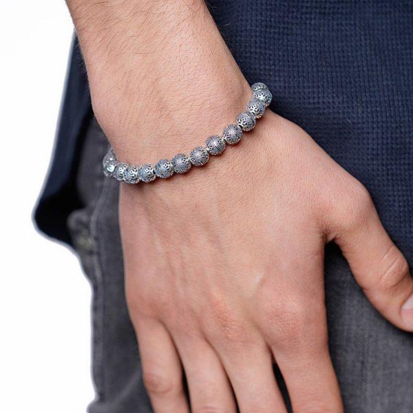 Nialaya Jewellery - Beaded Bracelet MIN8_002 - Lifestyle