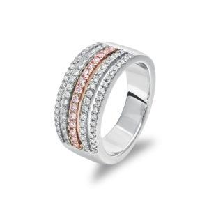 Pink Kimberley Diamonds Blush Narelle Ring BPD-RDNTB0501