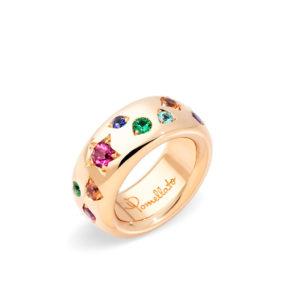 Pomellato Iconica Rose Gold Diamond Band | PAB9011_O7000_000V