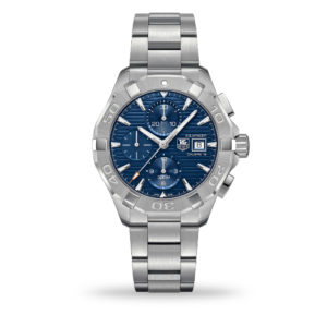 TAG Heuer Aquaracer Automatic Chronograph Blue Dial 43mm Bracelet | CAY2112.BA0927