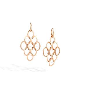Pomellato Brera Diamond Chandelier Earrings | POC0060_O7000_DBR00