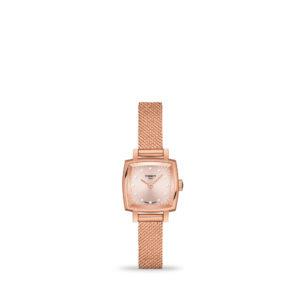 Tissot T-Lady Lovely Square 20mm Rose Gold 5N Bracelet | T058.109.33.456.00