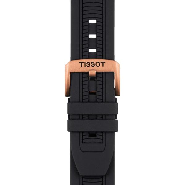 Tissot T-Sport T-Race Quartz Chronograph 43mm Silicone Bracelet | T115.417.37.051.00