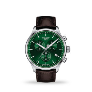 TISSOT Chrono XL Classic 45mm Green Dial Stainless Steel | T116.617.16.091.00