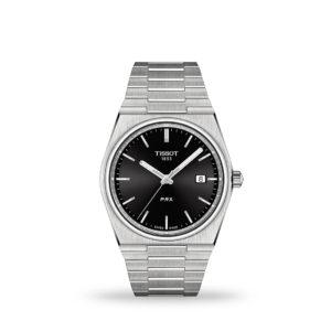 TISSOT PRX 40mm Black Dial Bracelet | T137.410.11.051.00
