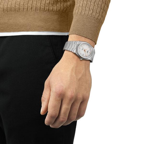 TISSOT PRX 40mm Silver Dial Bracelet   T137.410.11.031.00