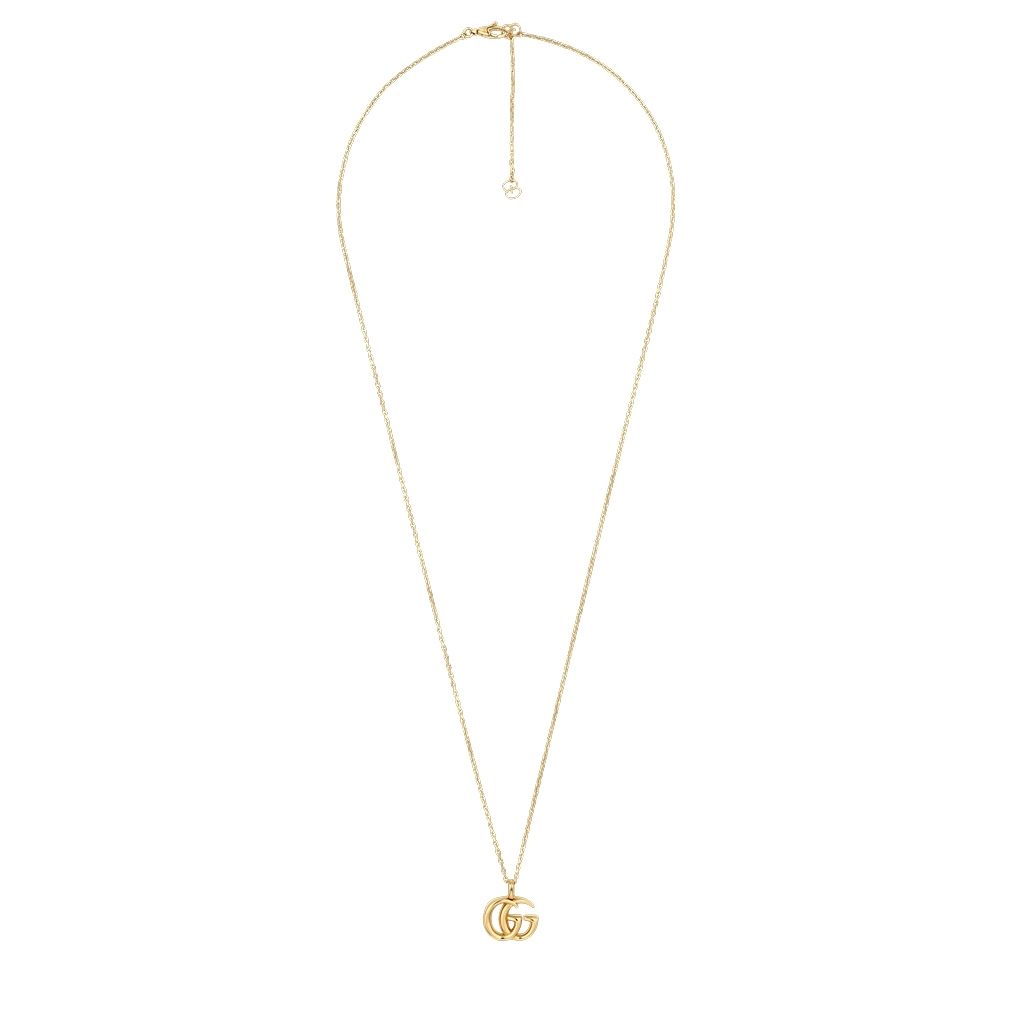 Gucci GG Running 18K Yellow Gold Necklace