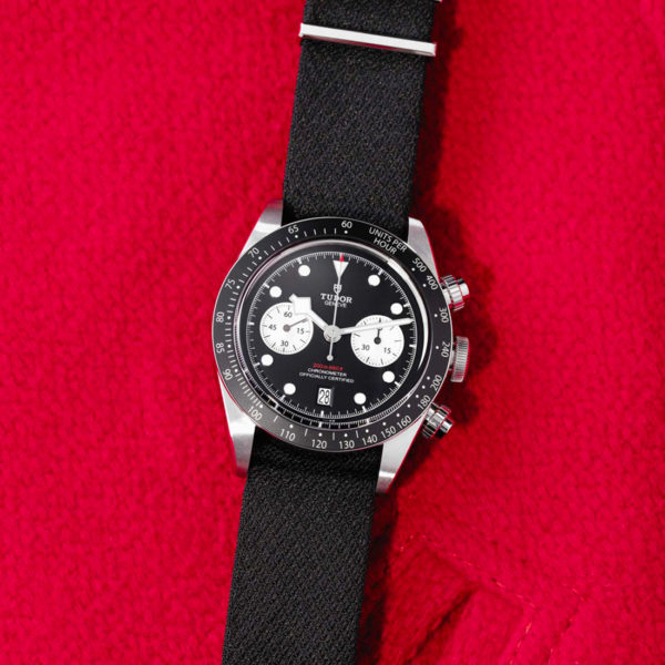 Tudor Black Bay Chrono Automatic 41mm Black Fabric Strap | M79360N-0007