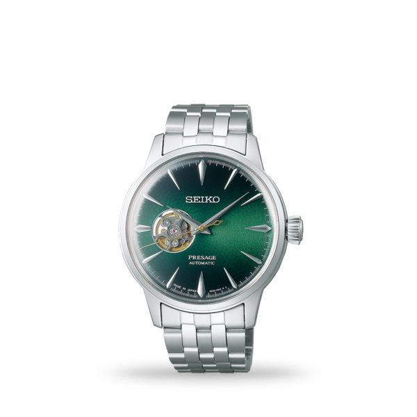 Seiko Presage Cocktail Green Dial Automatic 40mm Bracelet | Model# SSA441J