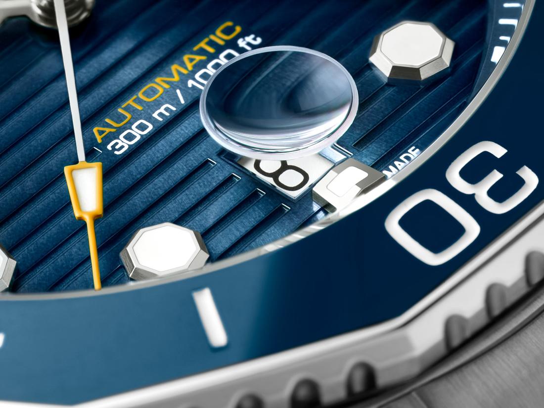 TAG Heuer Aquaracer Professional 300 Automatic Blue Dial 43mm Bracelet | WBP201B.BA0632