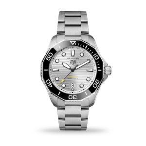 TAG Heuer Aquaracer Professional 300 Automatic Silver Dial 43mm Bracelet | WBP201C.BA0632