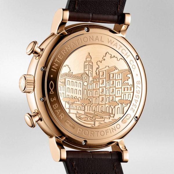 IWC Portofino Chronograph 18K 5N Gold Automatic 42mm Leather   IW391025