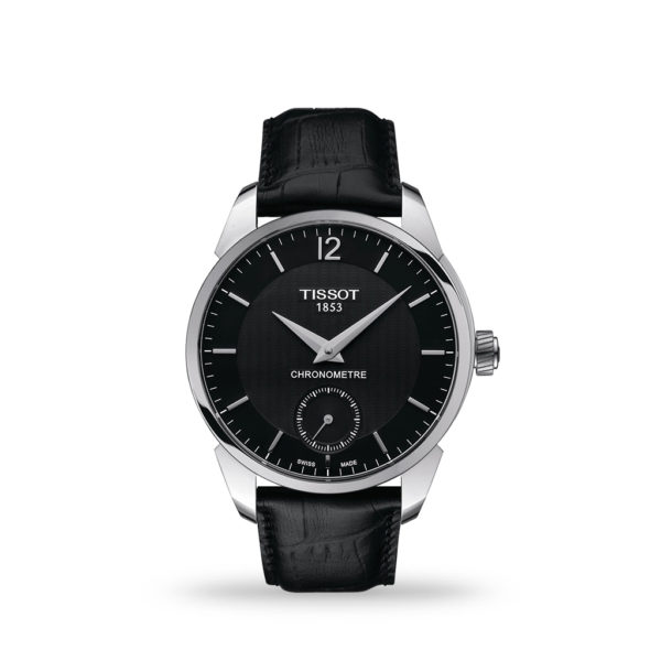 Tissot T-Classic T-Complication COSC 43mm Leather Strap | T0704061605700