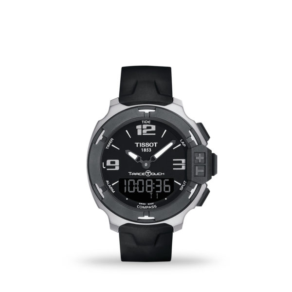 TISSOT T-Race Touch 42mm Antimagnetic Stainless Steel case with Silicon Strap   T081.420.17.057.01