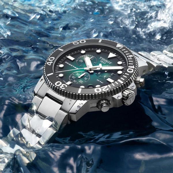 Tissot Seastar 1000 Quartz Chronograph 45mm Bracelet | T1204171109101