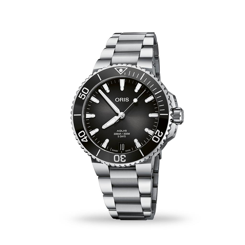 Oris Aquis Diver Calibre 400 Automatic Antracite Dial 41mm Bracelet