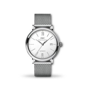 IWC Portofino Automatic Silver Dial 40mm Bracelet   IW356505